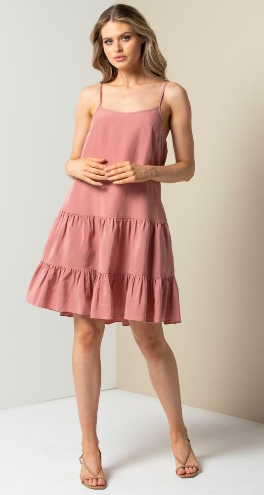 Toni Tiered Mini Dress