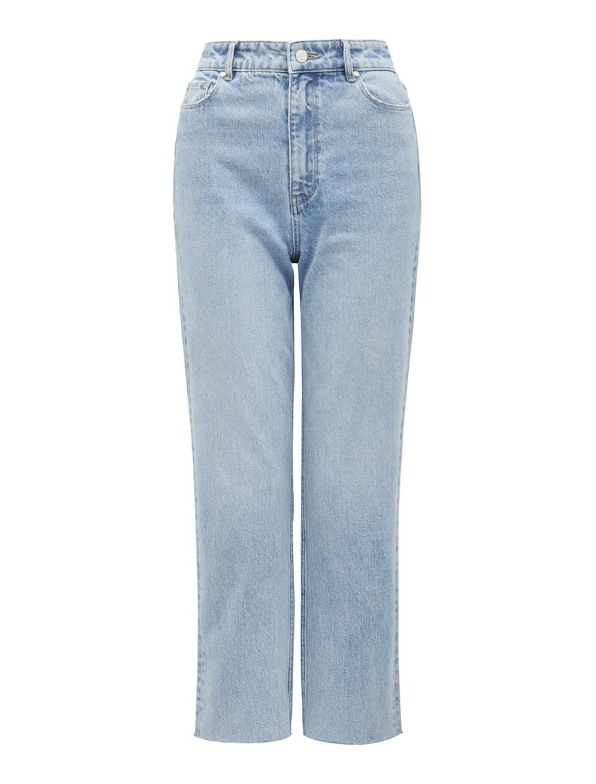 Tilly High-Rise Straight Jeans