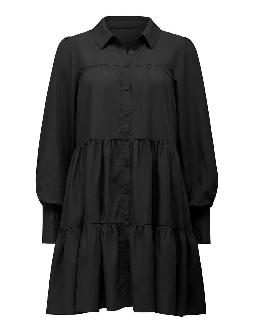 Monica Tiered Smock Dress