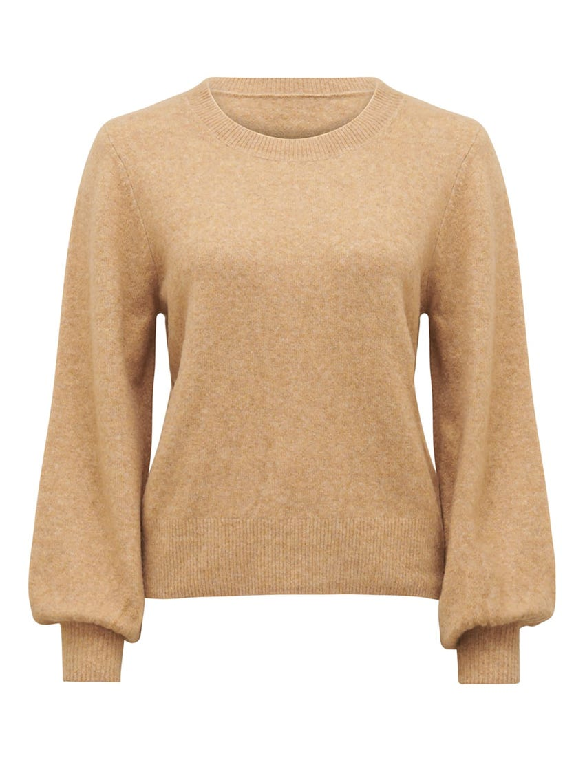 Elissa Bouson Sleeve Wool-Blend Jumper