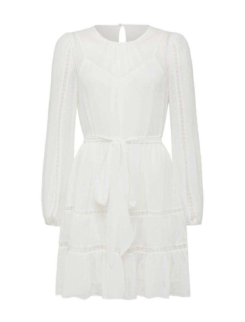 Fergie Long Sleeve Mini Dress