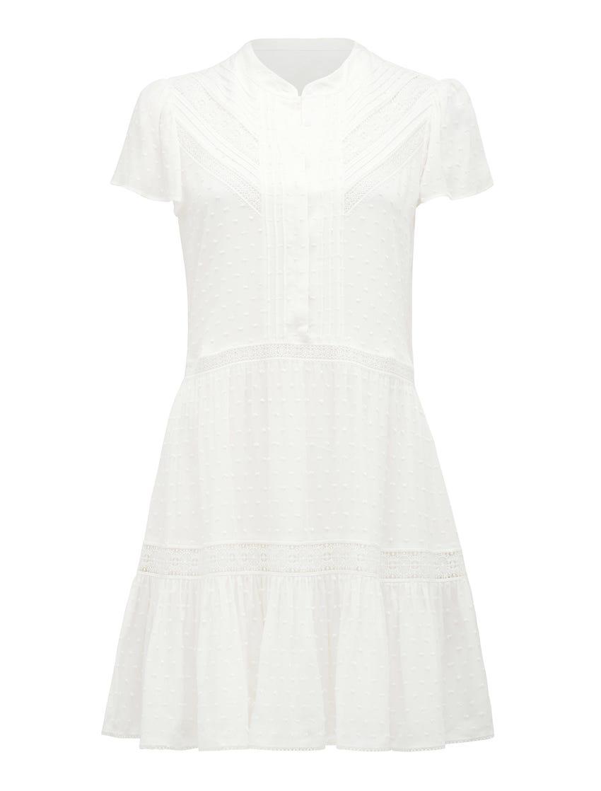 Lily Lace Smock Dress