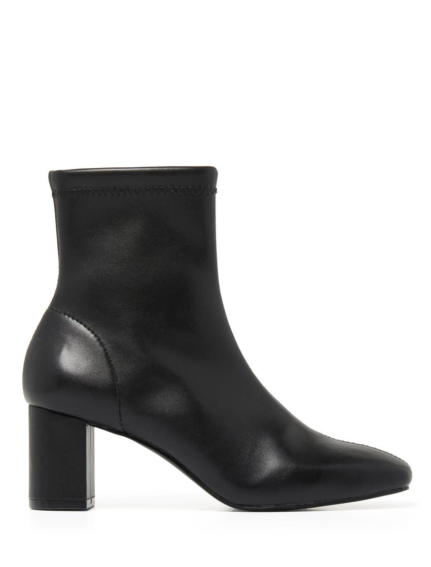 Embry Square Toe Ankle Boots