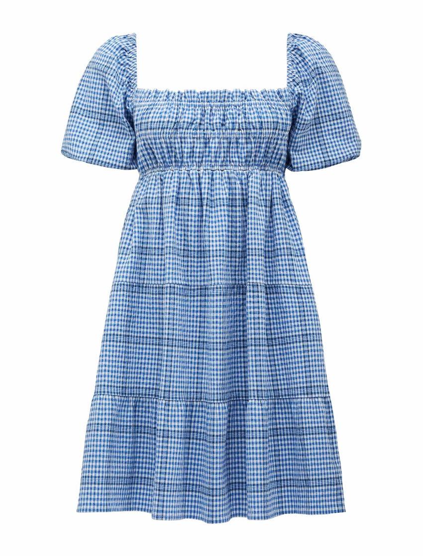 Andie Puff Sleeve Mini Dress