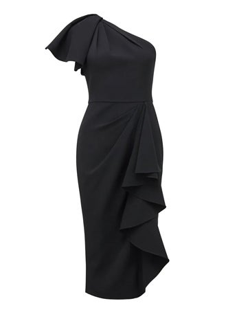 Bianca One-Shoulder Midi Dress