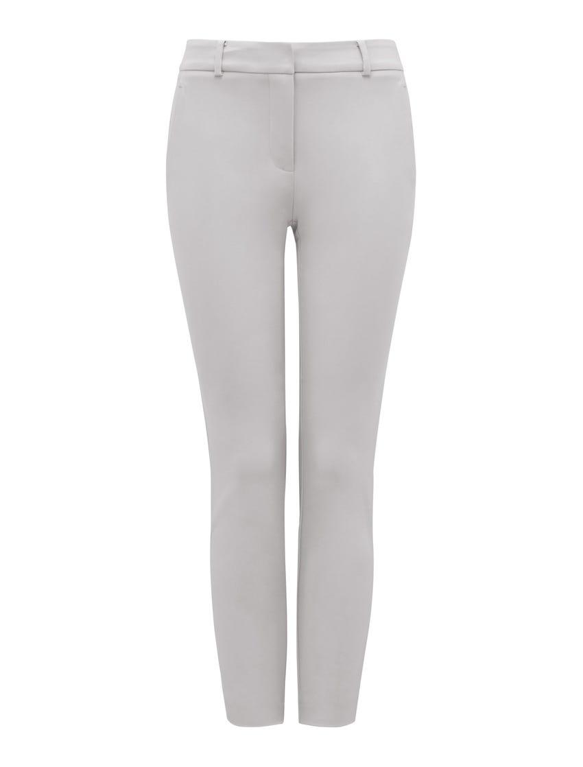 Grace 7/8th Slim Pants - Dove Grey