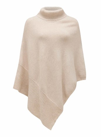 Eve Roll Neck Poncho