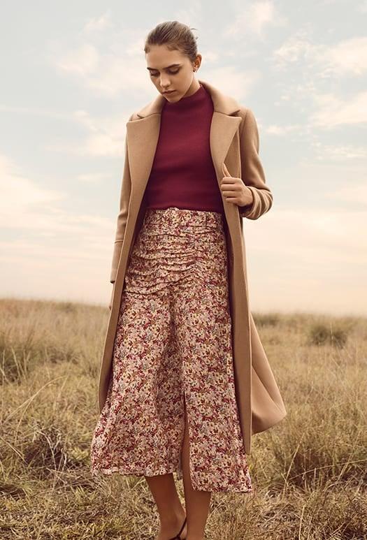 Donna Wrap Coat