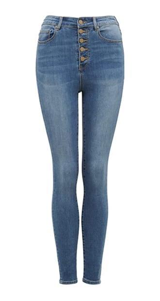 Heidi High-rise Ankle Grazer Jeans