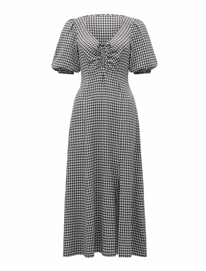 Holly Ruched Midi Dress