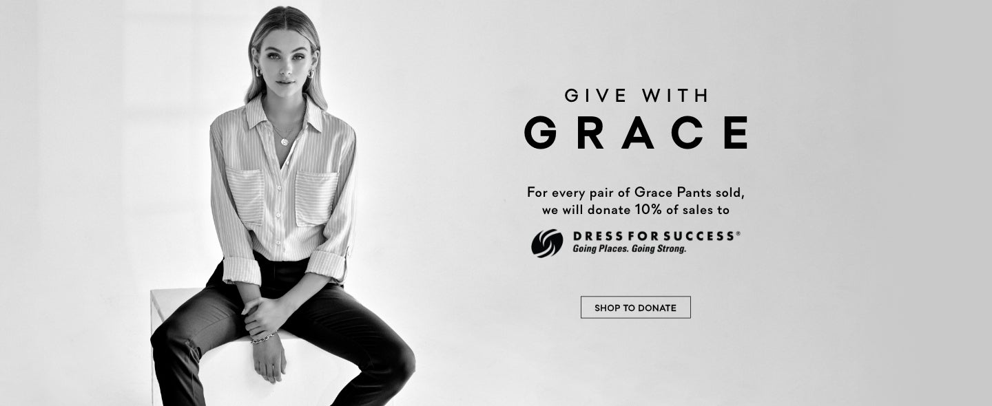 International Women's Day Give With Grace Dress For Success