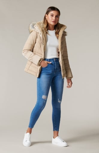 Freya Short Puffa Jacket