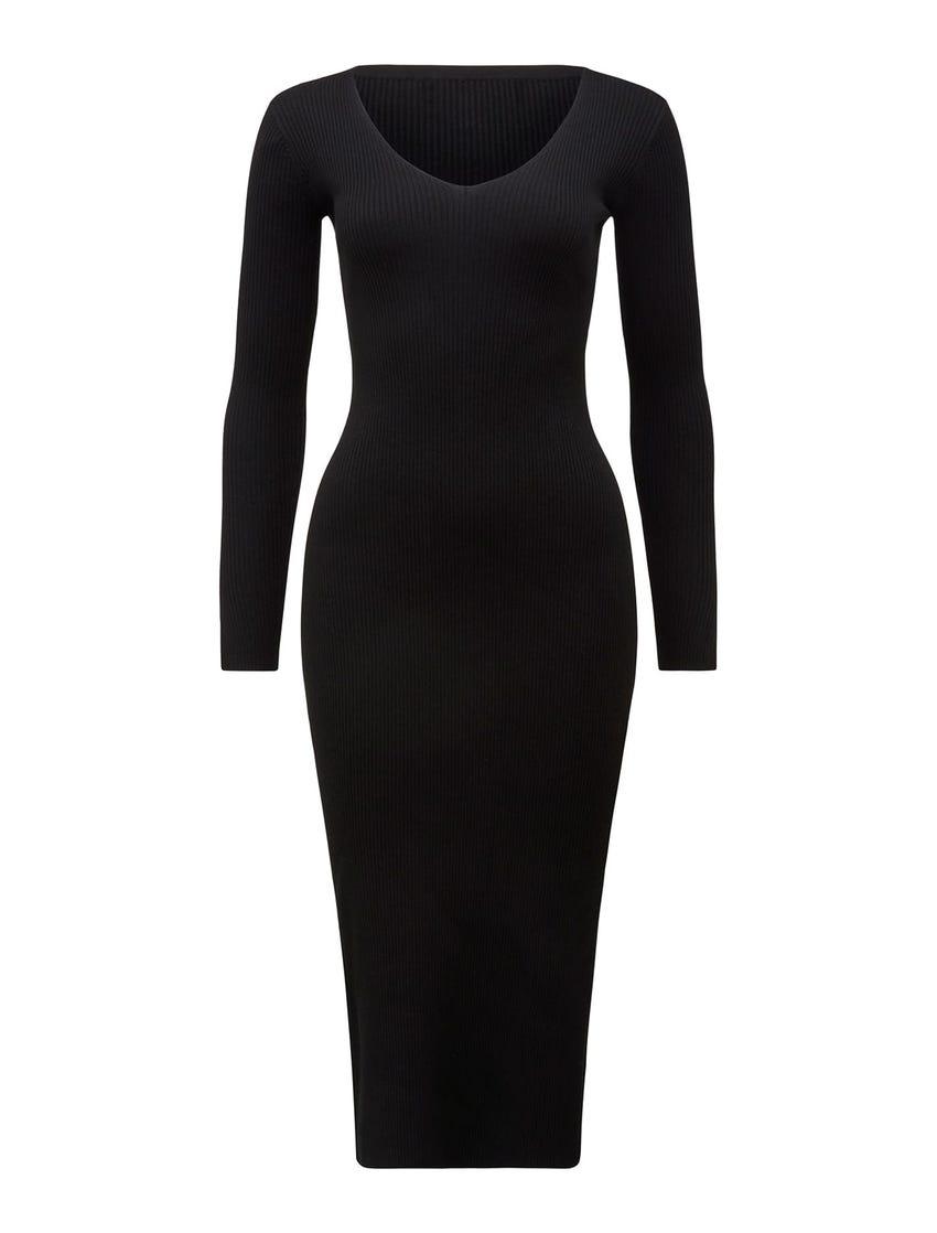 Kourtney Petite Rib Knit Dress