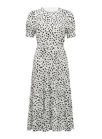 Betty Printed Midi Dress