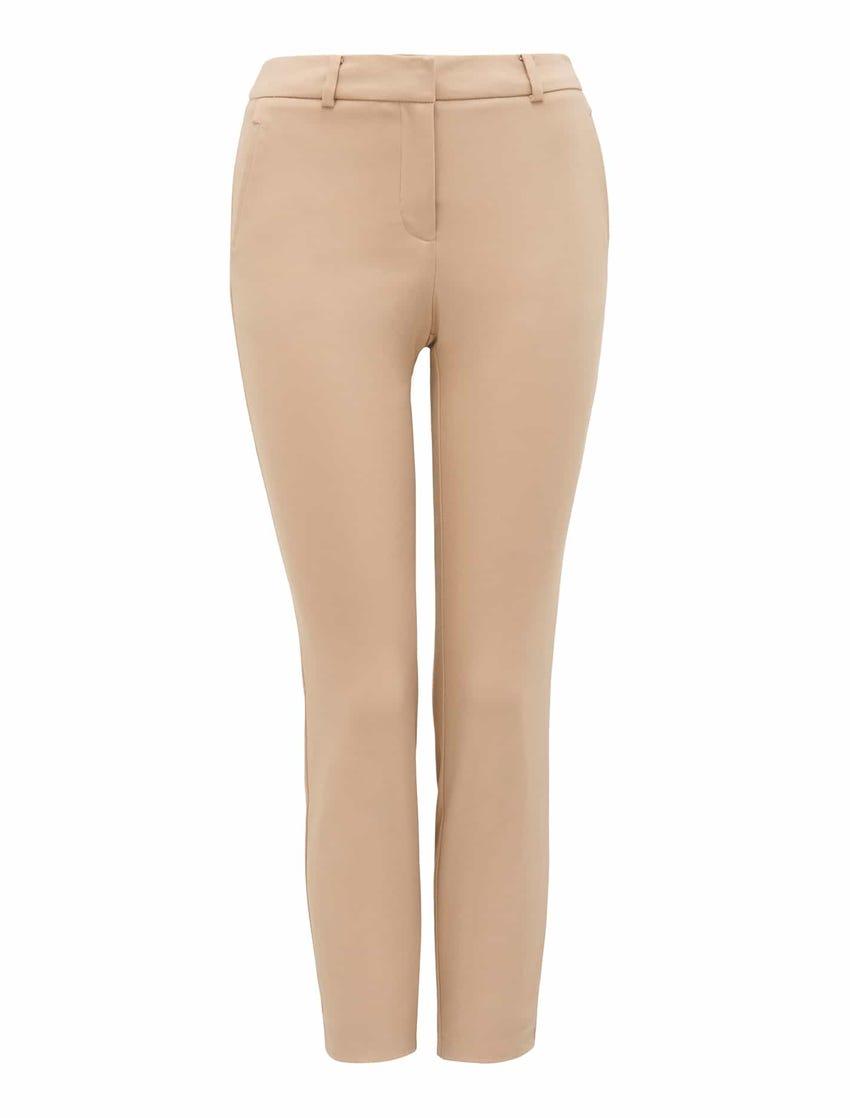 Grace 7/8th Slim Pants - Nougat Brown