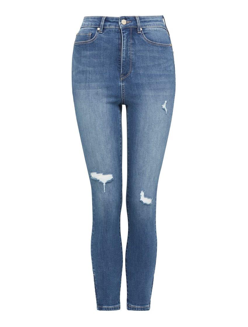 Olivia High-Rise Sculpting Crop Jeans