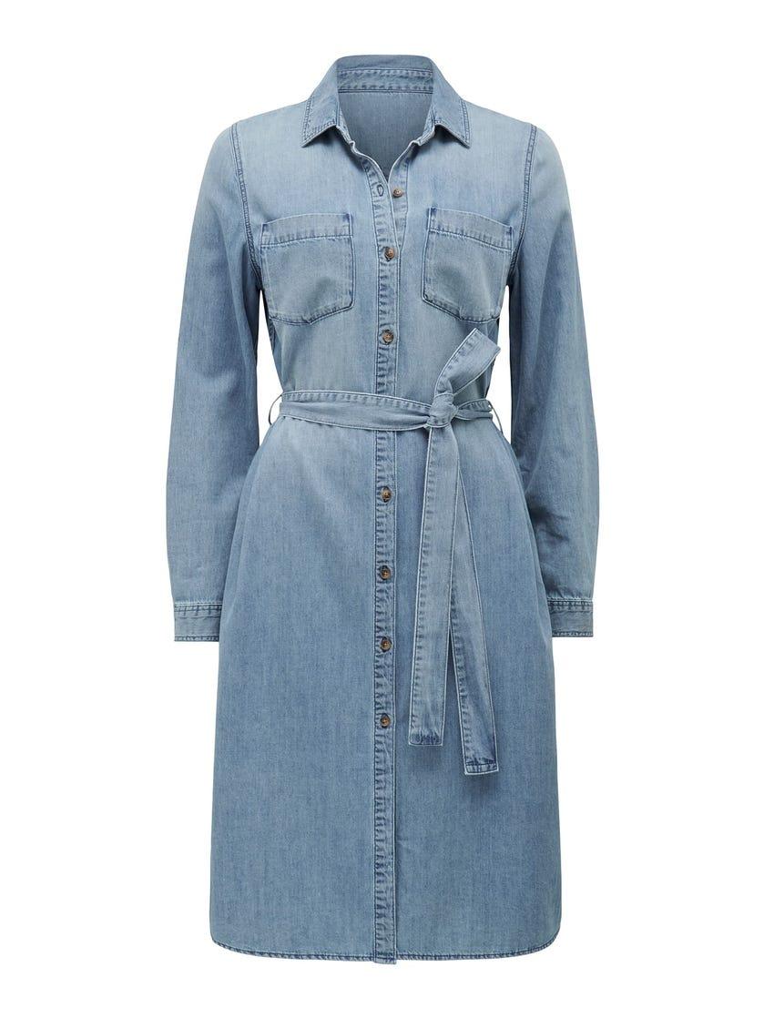 Paige Denim Shirt Dress