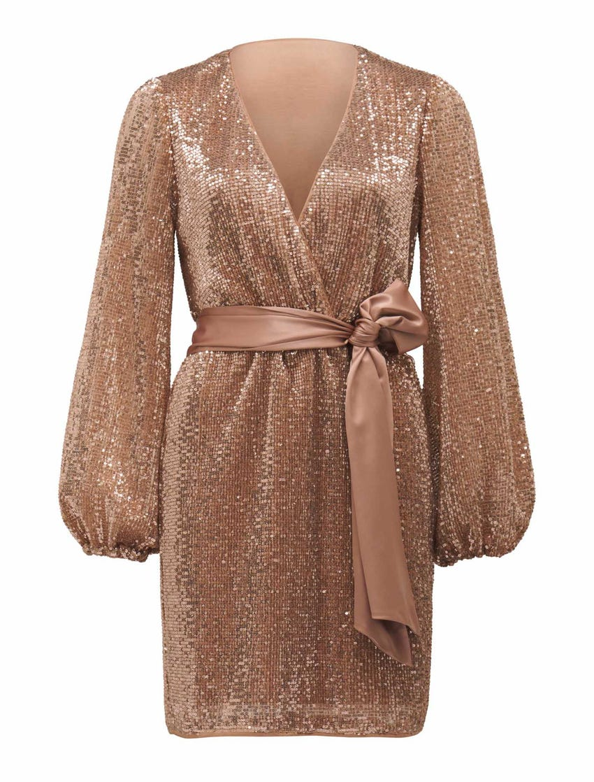 Di Sequin Mini Dress