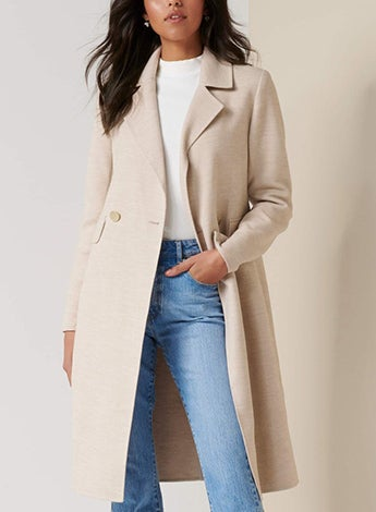Phillipa Felled Seam Coat