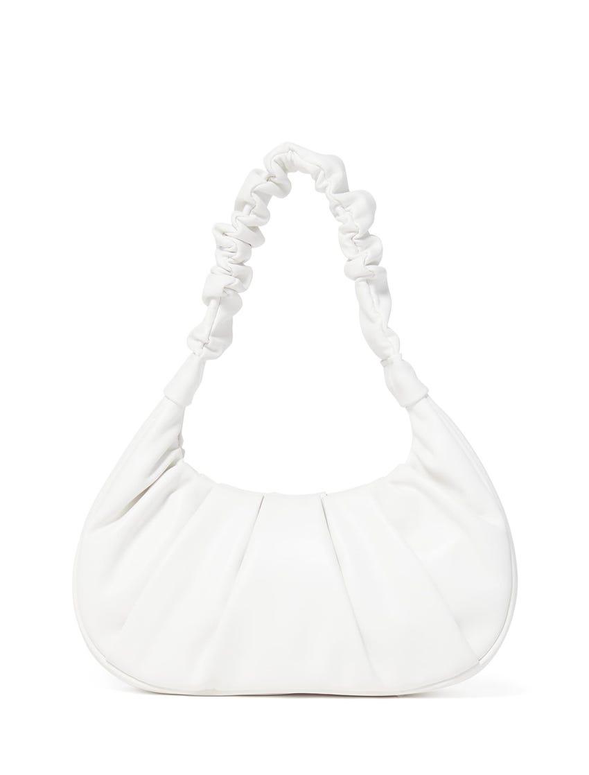 Remy Ruched Baguette Bag