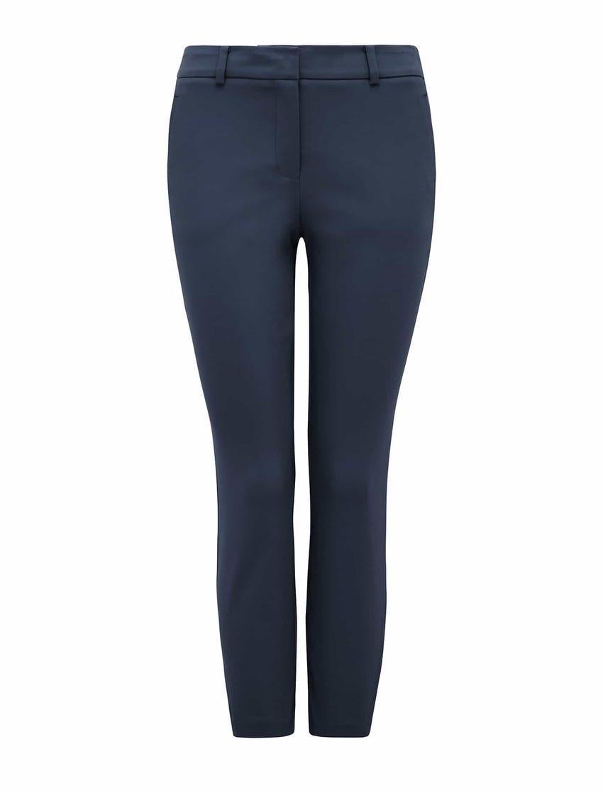 Grace 7/8th Slim Pants - Steel Blue