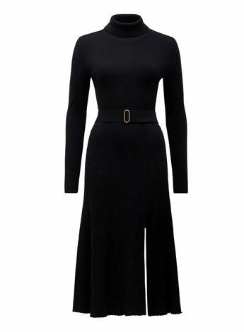 Stephanie Rib Midi Knit Dress