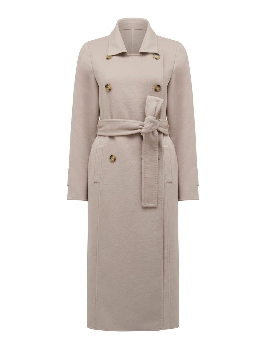 Tilly Seam Detail Trench Coat