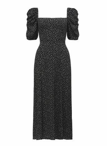 Willow Printed Midi Dress