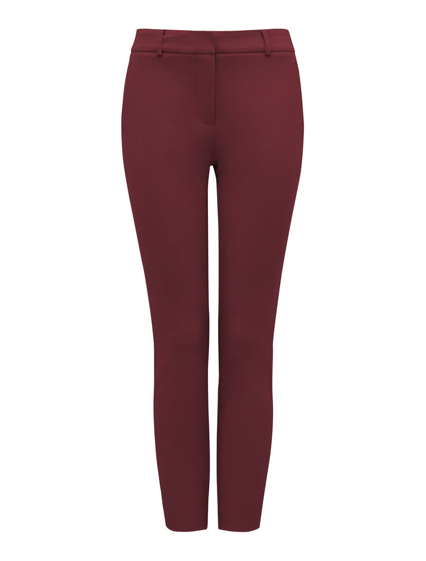 Grace 7/8th Slim Pants - Wine