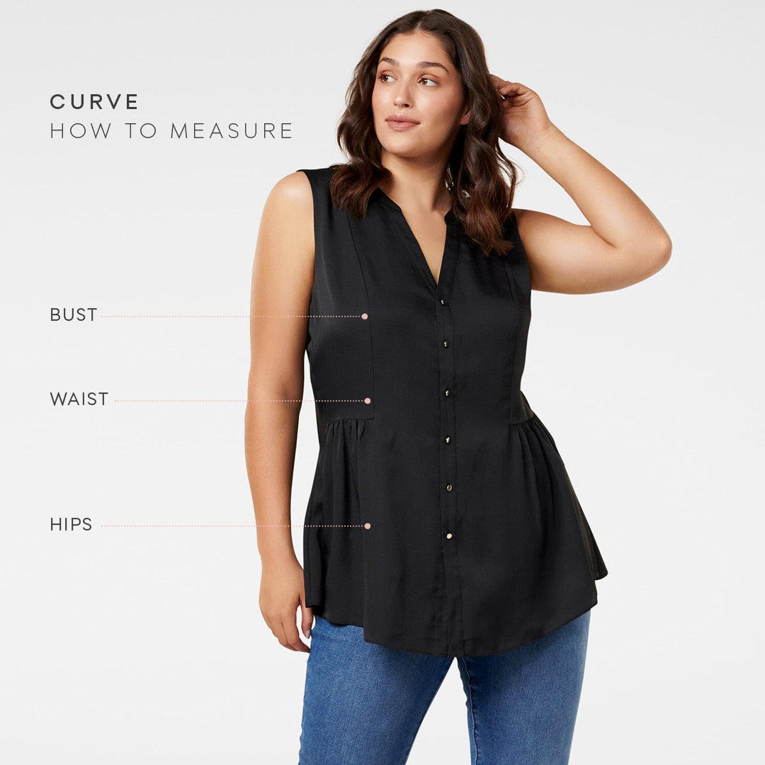 Forever New Curve size guide