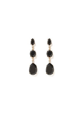 Coco Three Tier Drop Earrings