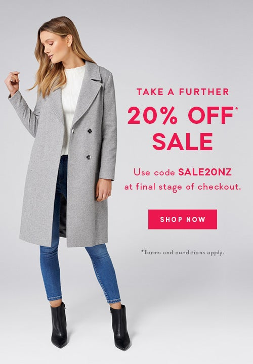 14c00ff3f 25% Off* Selected Jackets, Coats, Knitwear, Accessories & Boots | Forever  New