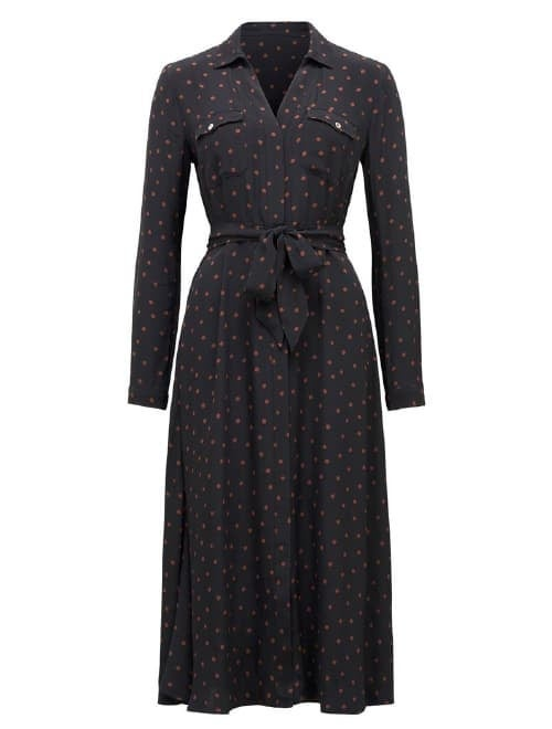 Clover Petite Maxi Shirt Dress