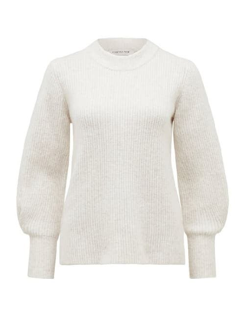Suri Pleated Blouson Jumper